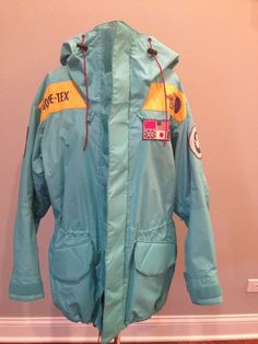 US $2,500.00 Rare Vintage Trans Antarctic 1990 Expedition The North Face Jacket Size Small