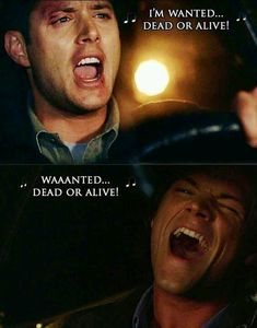 Image uploaded by Antonia Find images and videos about supernatural, dean winchester and sam winchester on We Heart It - the app to get lost in what you love. Sam Winchester, Winchester Brothers, Jared Padalecki, Castiel, Crowley, Sam Dean, Misha Collins, Emmanuelle Vaugier, Supernatural Tv Show