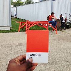 Pantone Project: Colori Pantone nella Vita Reale di Paul Octavious PANTONE 166