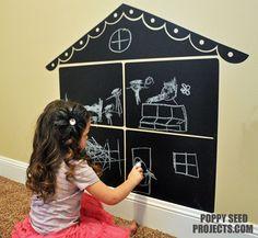 Chalkboard Doll House!!