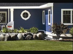 blue opal exterior house paint color