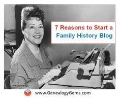 Need a little inspiration? Here you go! #familyhistory #writeyourfamilyhistory #genealogy