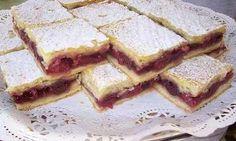 Próbáljátok ki ti is! meggy-szezonban mi mást is… Hungarian Desserts, Hungarian Cake, Hungarian Cuisine, Hungarian Recipes, Hungarian Food, Sweet Cookies, Cake Cookies, My Recipes, Cooking Recipes
