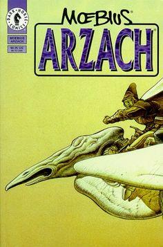 Arzach by Jean Geraud Moebius