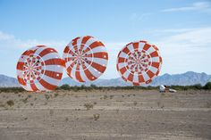 Orion Parachutes Chalk Up Another Test Success in Arizona