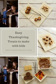 Housewife Eclectic: Easy and fun Thanksgiving Treats to Make With Kids