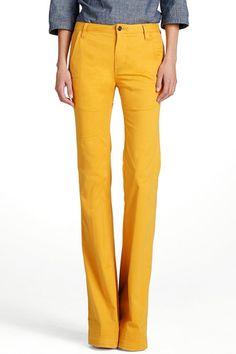 tory burch high waisted flare jean $195 #fashion