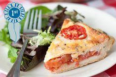 Eastern Shore Tomato Pie - Recipe Contest Winner
