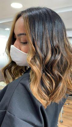 Balayage Hair Caramel, Hair Color Caramel, Brown Hair Balayage, Light Hair, Dark Hair, Lightest Brown Hair, Brunette Hair With Highlights, Hair Color Streaks, Cute Hairstyles