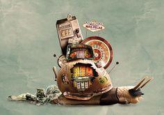 Hosber Art - Blog de Arte & Diseño.: Ilustraciones y manipulación surrealista por Jerico Santander