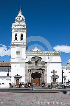 Catholic church of colonial Quito, World Heritage city