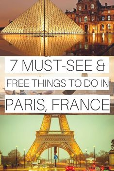 """""""Paris can be an expensive place to travel to. However, it doesn't mean that you won't find things to do in Paris without breaking the bank. So here are the top free things to do in Paris recommended"""" Paris Travel Tips, Europe Travel Tips, New Travel, European Travel, Travel Ideas, Travel Goals, Travel Packing, Budget Travel, Italy Travel"""