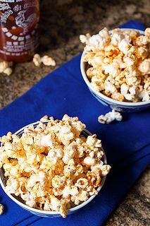 Sriracha Popcorn #SundaySupper by LittleRedKitchen, via Flickr