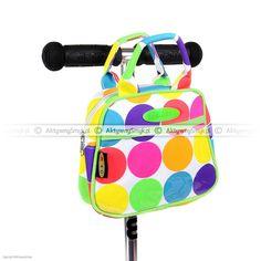 Torebka Micro Dotty do hulajnogi Mini Micro lub Maxi Micro Lunch Box, Dots, Neon, Backpacks, Mini, Stitches, Bento Box, Neon Colors, Backpack
