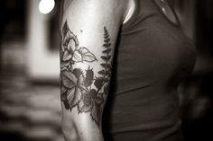 Botanical Sleeve Tattoo - #tattooideaszone