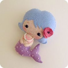Andru Loyd Blog - #crafts#sewing#felt#mermaid#cute
