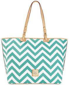 Dooney & Bourke Chevron Leisure Shopper - Handbag Trends - Handbags & Accessories - Macy's ($198)