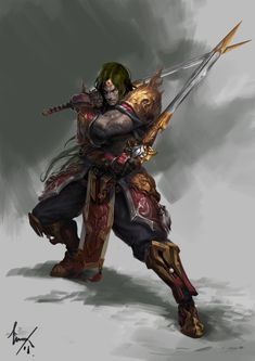 ArtStation - Swordsman, Du Showwhy