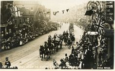 King's visit, Walworth Road, Southwark, 1911