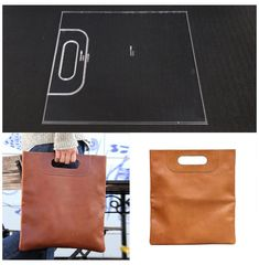 Leather Diy Crafts, Leather Gifts, Leather Bags Handmade, Leather Projects, Leather Craft, Leather Bag Pattern, Sewing Leather, Diy Handbag, Diy Purse