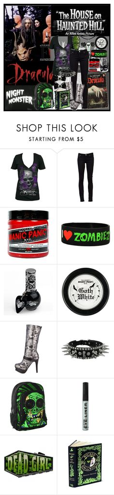 """""""rob zombie"""" by brittany307 ❤ liked on Polyvore featuring Nicki Minaj, Theory, Nudie Jeans Co., Manic Panic, Goodie Two Sleeves and Iron Fist"""