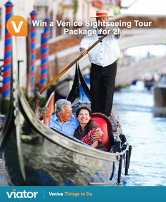 Planning your upcoming #adventure to #Italy? Enter our #Venice #giveaway for a chance to win a sightseeing tour package!