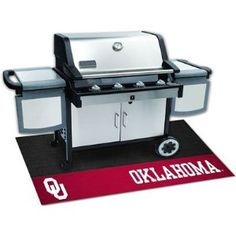 # Buyers Fanmats University Of Oklahoma Grill Mat Go to Online Store   Bar B Grill Plaza