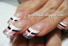 french nail design - Google Search