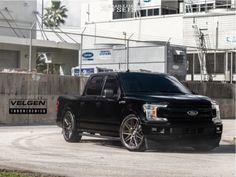 2018 Ford F-150 Velgen VFT9 Delinte D8 Desert Storm Lowered F150, Lowered Trucks, Boy Toys, Toys For Boys, Ford Lightning, Svt Raptor, Truck Memes, Ford Pickup Trucks, Truck Wheels