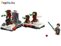 Shop LEGO Star Wars Duel on Starkiller Base 75236 at Best Buy. Find low everyday prices and buy online for delivery or in-store pick-up. Shop Lego, Lego Store, Blue Lightsaber, Nintendo World, Brand Character, Lego System, Lego News, Lego Parts, Scene