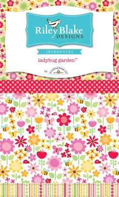 riley blake & doodlebug ladybug garden