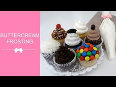 GREAT VIDEO!! Best Buttercream Frosting Recipe Ever (and she gives over 2 dozen flavor options to make)! Perfect for cakes, cupcakes, cookies, brownies, or anything, really :) I could eat this stuff by the spoonful! It is soooo simple to whip together and you can toss in just about any ingredient to create a ton of flavor variations, from creamy coconut, to cookies & cream, whipped espresso, and more.