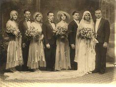1930s Vintage Wedding photo full party  | eBay