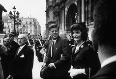 1961. Juin. Paris. Jack et Jackie
