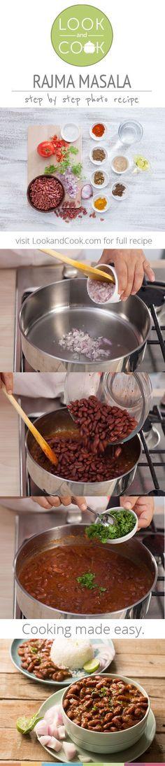 Rajma Masala (LC 14052) - A popular North Indian dish, is also Vegan and Vegetarian.