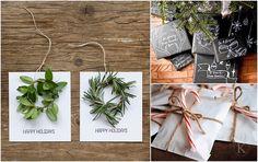 diy wrapping inspiration and free printables for christmas