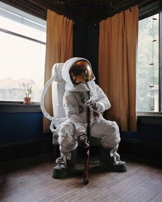"""""""In 1961 the US pledged to send man to the moon. In 2010 the Constellation Program, meant to return man to the moon, was ended. This is the aftermath.""""    Astronaut Suicides by Neil DaCosta"""