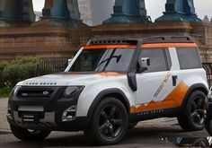 The latest Range Rover Defender 4WD features a snorkel and fording sonar. Sweet!
