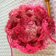 Flor roseta passo a passo - www.croche.com (58)