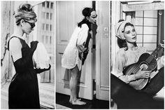 Audrey protagonizó algunas de las cintas más memorables de los 50´s y los 60´s, pero si hay una que permanecerá para siempre en el imaginario colectivo ésa es Desayuno con diamantes. Pese a que Truman Capote, autor del libro en el que se basa la película, no estaba de acuerdo con la elección de la actriz para interpretar a Holly Golightly –él creía que Marilyn Monroe, voluptuosa, sexy e íntima
