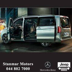 Exterior, interior, superior. The new V-Class proves that a spacious car and a high-performance engine don't have to contradict each other. #VClass #teamstanmar