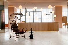 Hotel Barceló Torre de Madrid 13 Reception Area