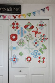 Design Wall on Closet by Pleasant Home, via Flickr