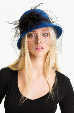 August Hat 'Angelica' Cloche available at #Nordstrom