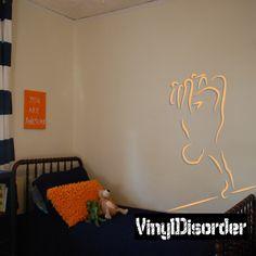 Skateboarding Wall Decal - Vinyl Sticker - Car Sticker - Die Cut Sticker - CDSCOLOR024