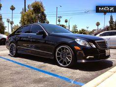 BENZTUNING: Mercedes-Benz W212 E63 AMG on MOZ Wheels