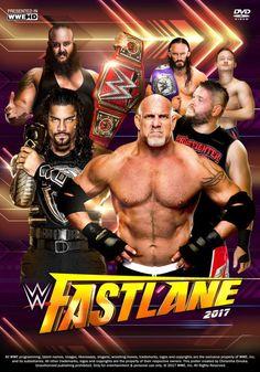 WWE Fastlane 2017 Poster by Chirantha on DeviantArt Wrestling Posters, Wrestling Wwe, Wwe Events, Ufc, Brie Bella Wwe, Wwe Ppv, Wwe Survivor Series, Wrestlemania 33, Ms Dhoni Wallpapers
