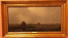 Jersey Marshes 1874 by Martin Johnson Heade (Thyssen-Bornemisza Museum, Madrid Spain 12/16)