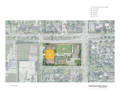 York House Senior School,Site Plan