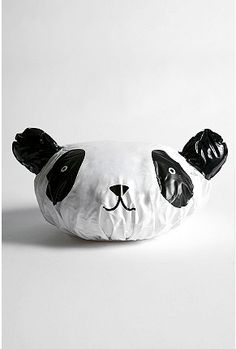 Panda Shower Cap from Urban Outfitters Shower Cap, Novelty Items, Cool Gadgets, Things To Buy, Cleaning Wipes, 3 D, Urban Outfitters, Motto, Badge